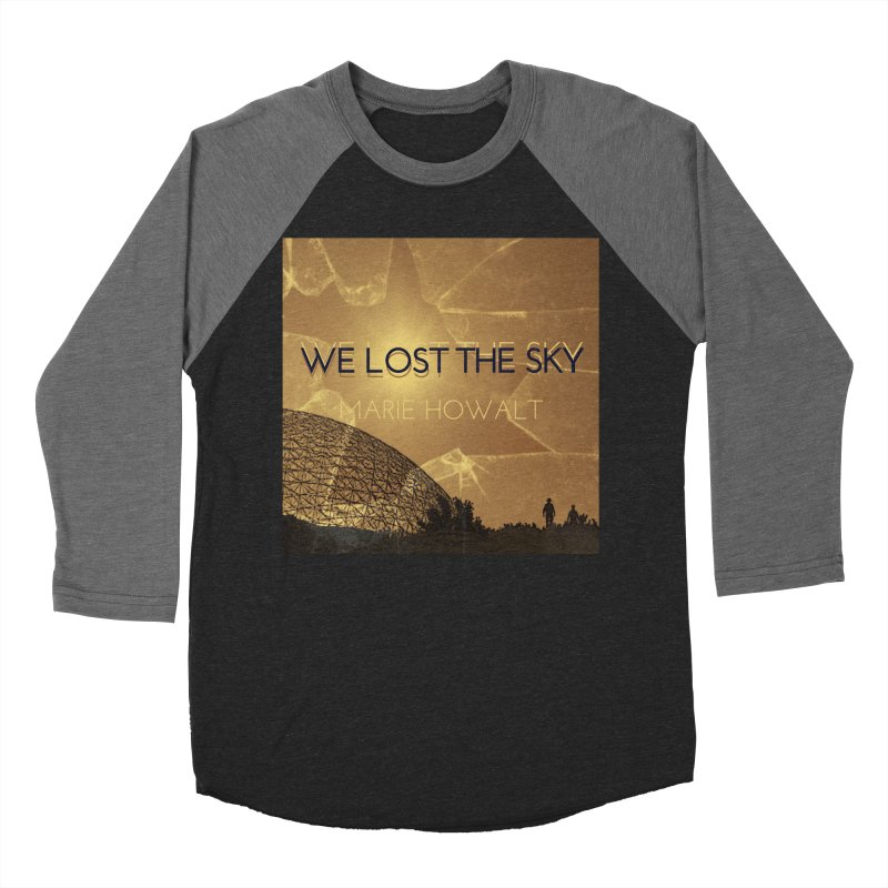 We Lost the Sky (Title) Men's Baseball Triblend Longsleeve T-Shirt by Spaceboy Books LLC's Artist Shop