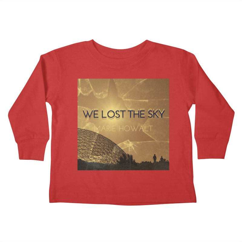 We Lost the Sky (Title) Kids Toddler Longsleeve T-Shirt by Spaceboy Books LLC's Artist Shop