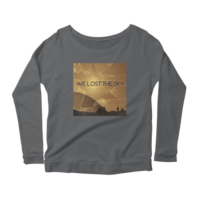 We Lost the Sky (Title) Women's Scoop Neck Longsleeve T-Shirt by Spaceboy Books LLC's Artist Shop