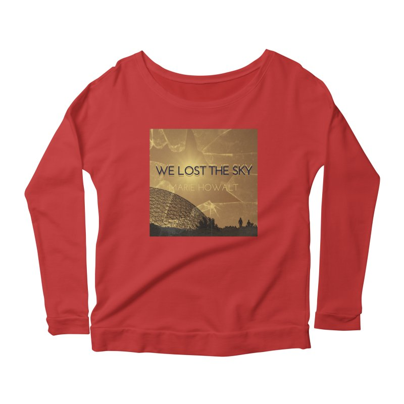 We Lost the Sky (Title) Women's Scoop Neck Longsleeve T-Shirt by Spaceboy Books LLC's Artist Shop
