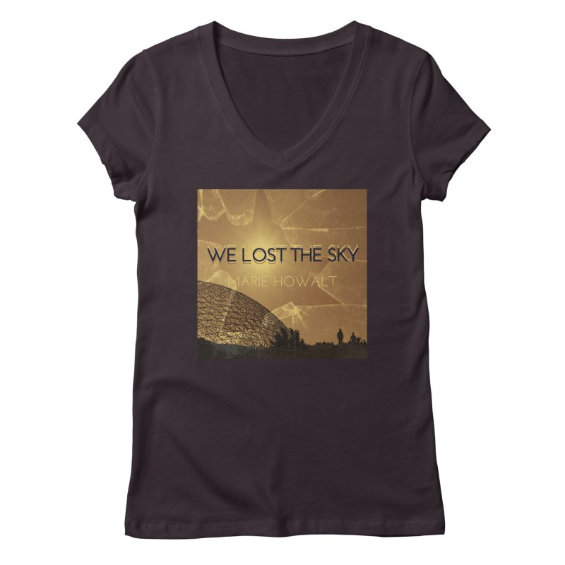 We Lost the Sky (Title) Women's Regular V-Neck by Spaceboy Books LLC's Artist Shop