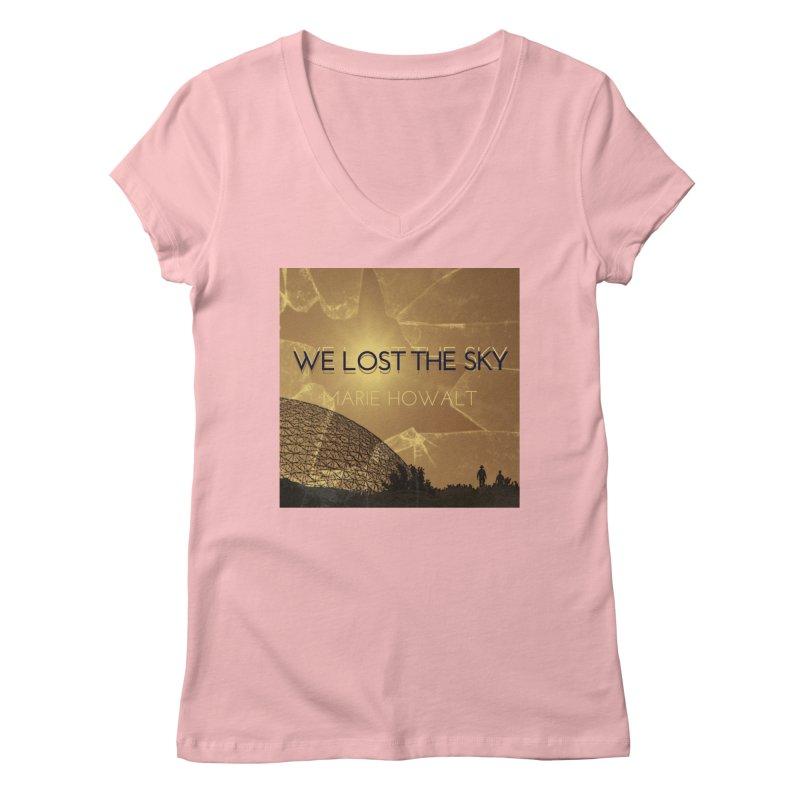 We Lost the Sky (Title) Women's Regular V-Neck by Spaceboy Books LLC's Artist Shop