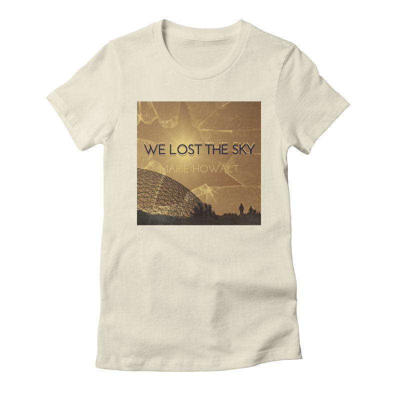 We Lost the Sky (Title) Women's T-Shirt by Spaceboy Books LLC's Artist Shop