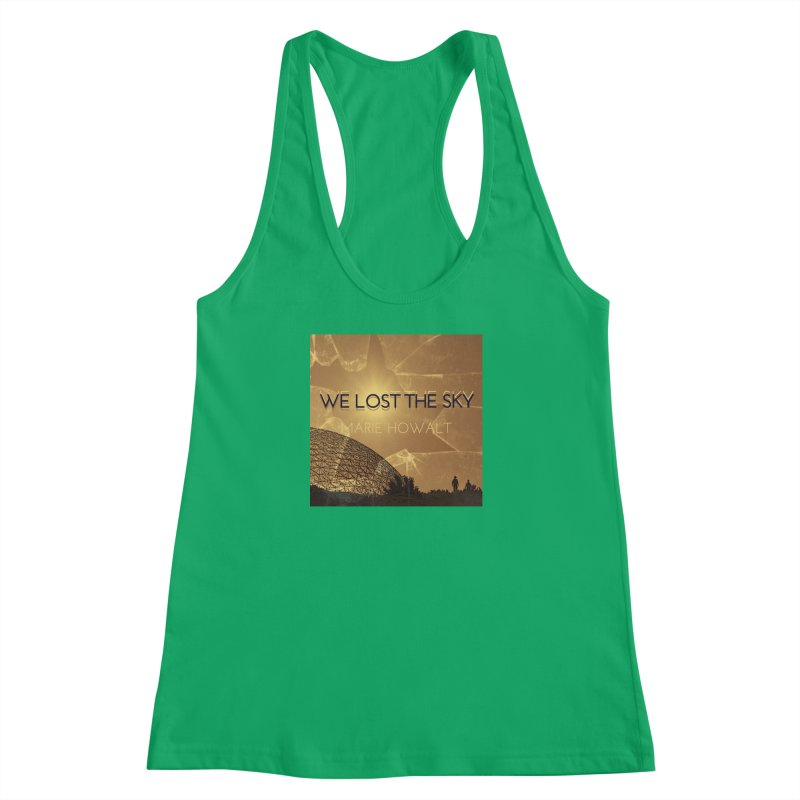 We Lost the Sky (Title) Women's Racerback Tank by Spaceboy Books LLC's Artist Shop