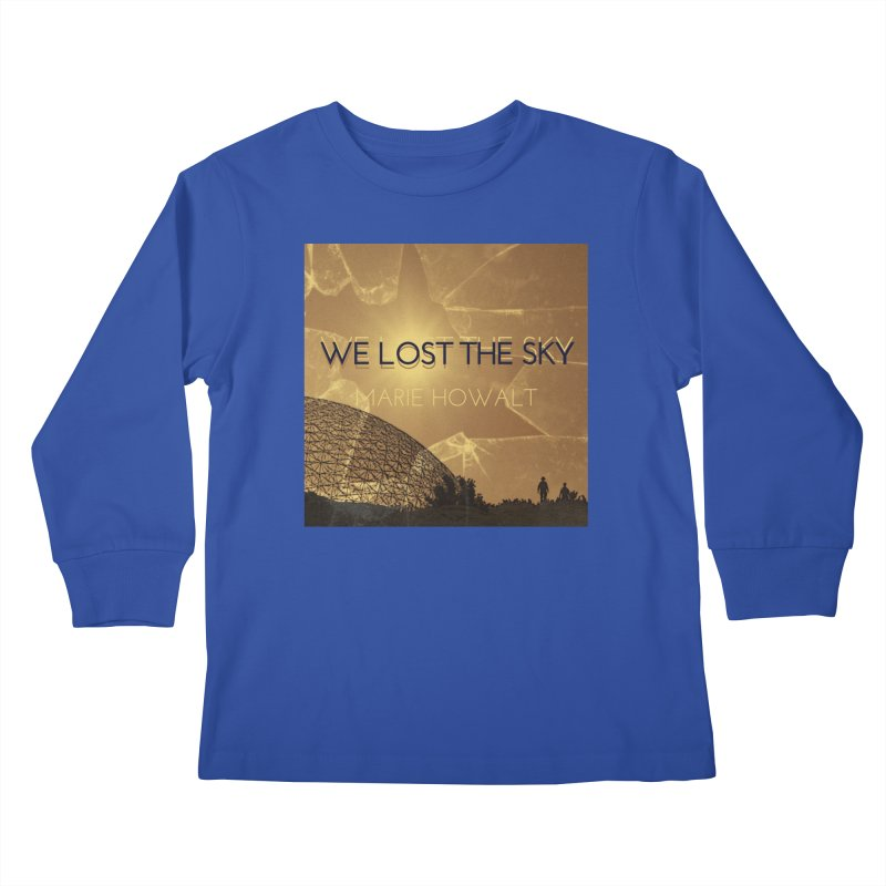 We Lost the Sky (Title) Kids Longsleeve T-Shirt by Spaceboy Books LLC's Artist Shop