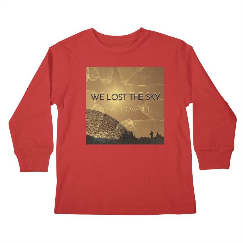 We Lost the Sky (Title) Kids Longsleeve T-Shirt by Spaceboy Books LLC's Artist Shop