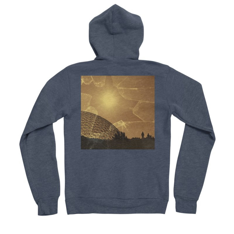 We Lost the Sky (Art Only) Women's Sponge Fleece Zip-Up Hoody by Spaceboy Books LLC's Artist Shop
