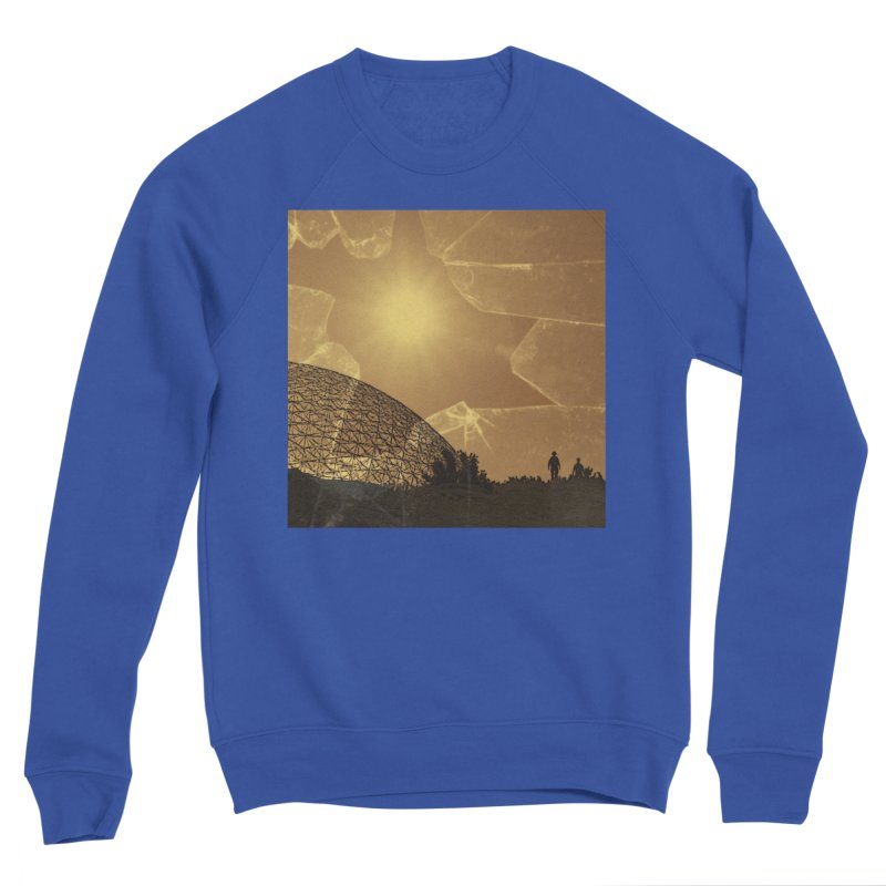 We Lost the Sky (Art Only) Men's Sponge Fleece Sweatshirt by Spaceboy Books LLC's Artist Shop