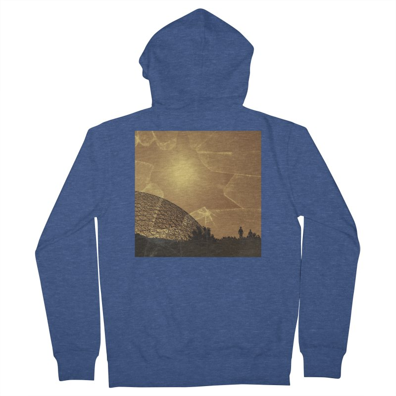 We Lost the Sky (Art Only) Men's French Terry Zip-Up Hoody by Spaceboy Books LLC's Artist Shop