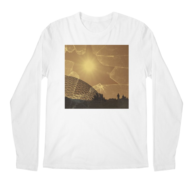 We Lost the Sky (Art Only) Men's Regular Longsleeve T-Shirt by Spaceboy Books LLC's Artist Shop