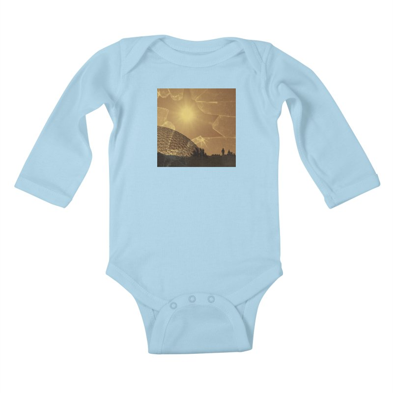 We Lost the Sky (Art Only) Kids Baby Longsleeve Bodysuit by Spaceboy Books LLC's Artist Shop