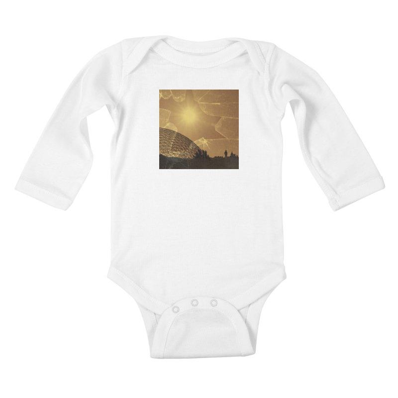 We Lost the Sky (Art Only) Kids Baby Longsleeve Bodysuit by Spaceboy Books LLC's Artist Shop