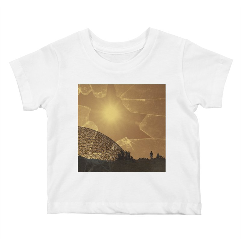 We Lost the Sky (Art Only) Kids Baby T-Shirt by Spaceboy Books LLC's Artist Shop