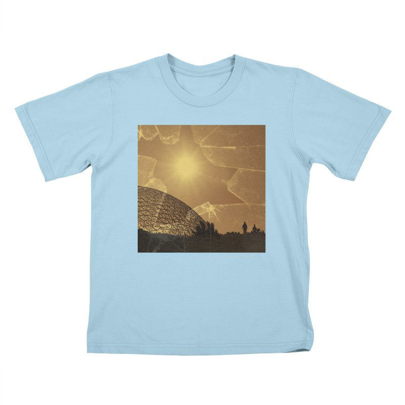 We Lost the Sky (Art Only) Kids T-Shirt by Spaceboy Books LLC's Artist Shop