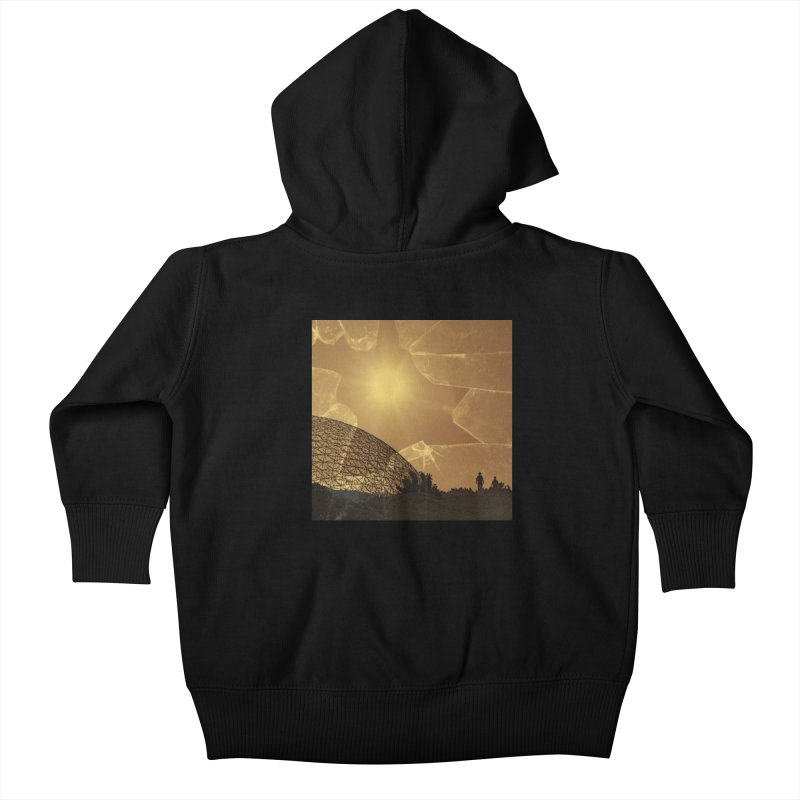We Lost the Sky (Art Only) Kids Baby Zip-Up Hoody by Spaceboy Books LLC's Artist Shop