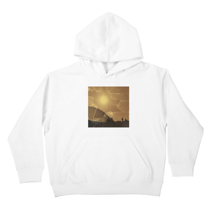 We Lost the Sky (Art Only) Kids Pullover Hoody by Spaceboy Books LLC's Artist Shop