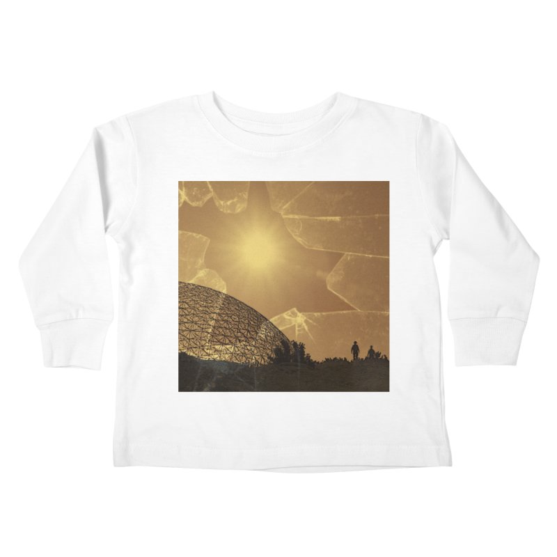 We Lost the Sky (Art Only) Kids Toddler Longsleeve T-Shirt by Spaceboy Books LLC's Artist Shop