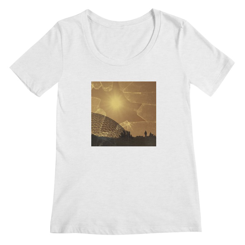 We Lost the Sky (Art Only) Women's Regular Scoop Neck by Spaceboy Books LLC's Artist Shop