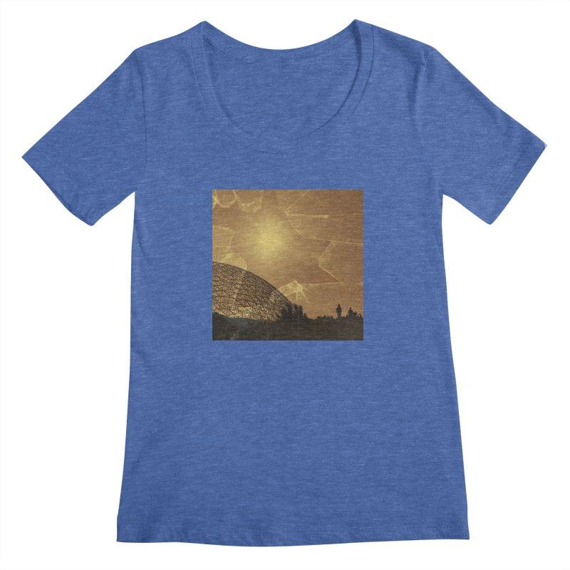 We Lost the Sky (Art Only) Women's Regular Scoop Neck by Spaceboy Books LLC's Artist Shop