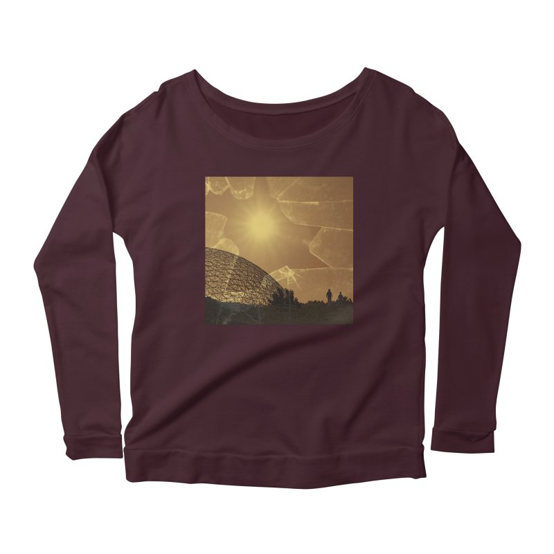 We Lost the Sky (Art Only) Women's Scoop Neck Longsleeve T-Shirt by Spaceboy Books LLC's Artist Shop