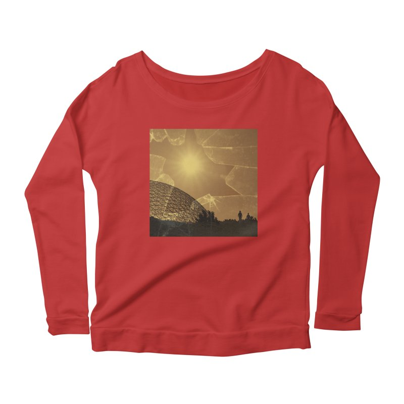 We Lost the Sky (Art Only) Women's Scoop Neck Longsleeve T-Shirt by Spaceboy Books LLC's Artist Shop