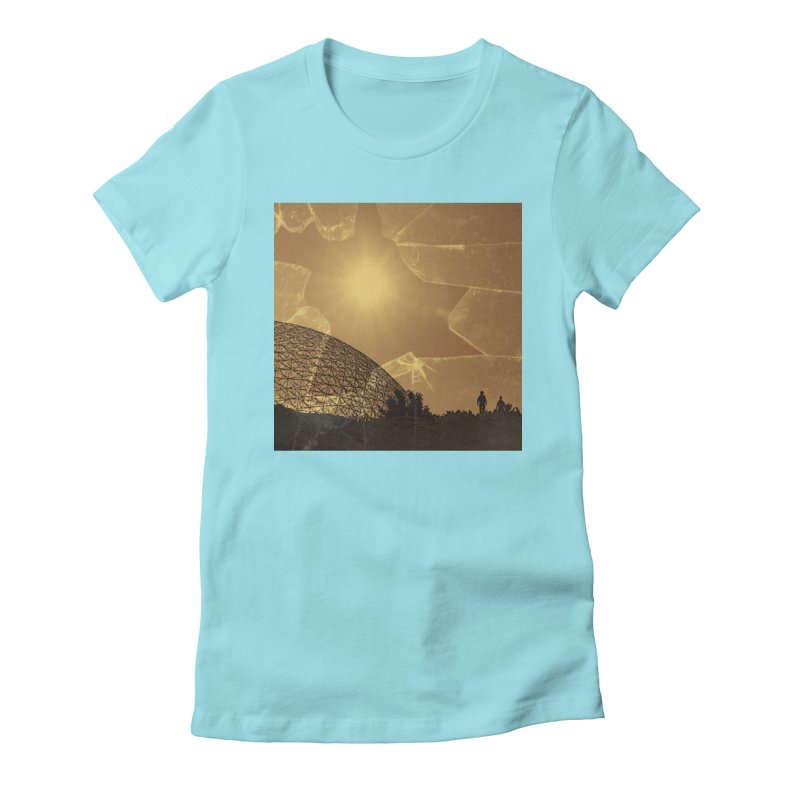 We Lost the Sky (Art Only) Women's Fitted T-Shirt by Spaceboy Books LLC's Artist Shop