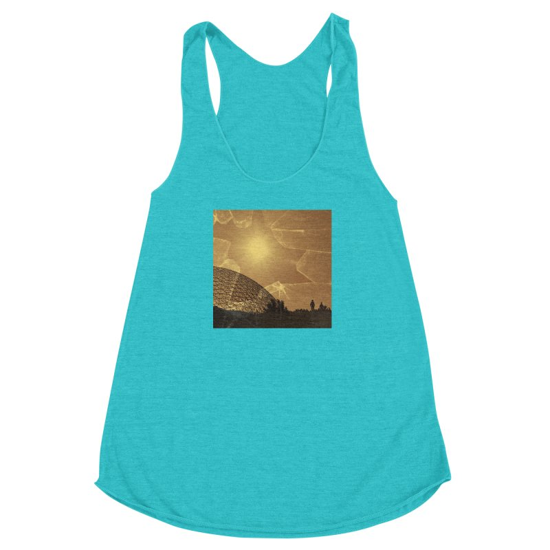 We Lost the Sky (Art Only) Women's Racerback Triblend Tank by Spaceboy Books LLC's Artist Shop