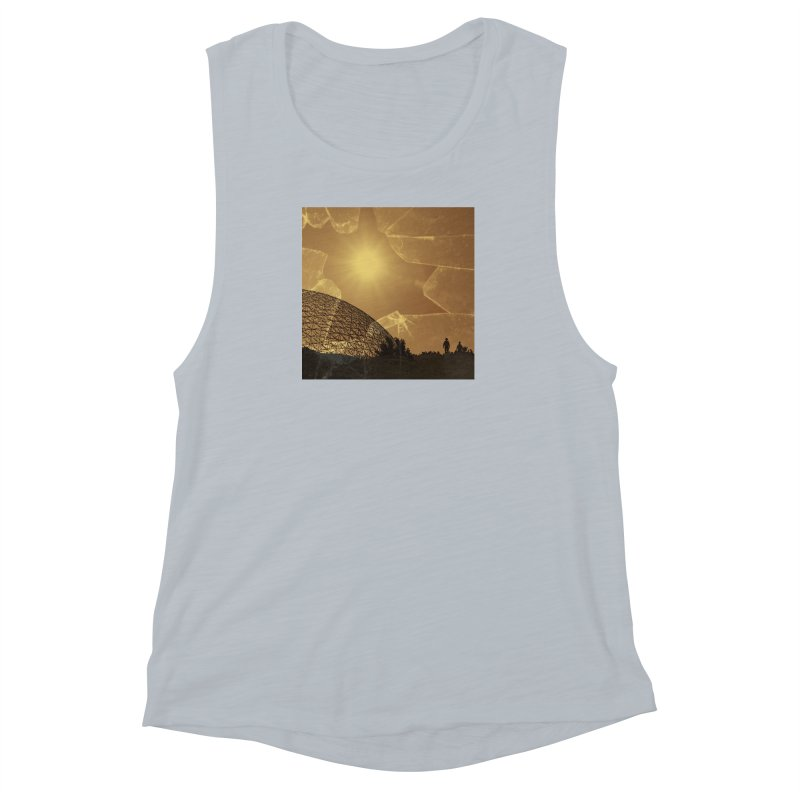 We Lost the Sky (Art Only) Women's Muscle Tank by Spaceboy Books LLC's Artist Shop