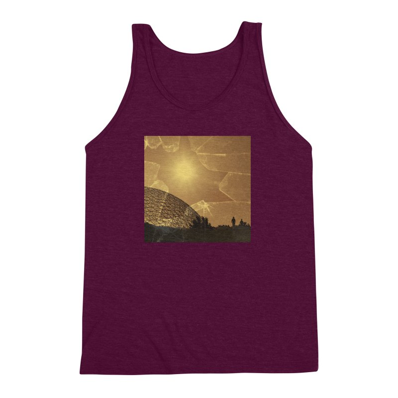We Lost the Sky (Art Only) Men's Triblend Tank by Spaceboy Books LLC's Artist Shop
