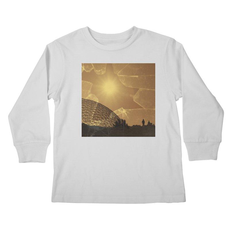 We Lost the Sky (Art Only) Kids Longsleeve T-Shirt by Spaceboy Books LLC's Artist Shop