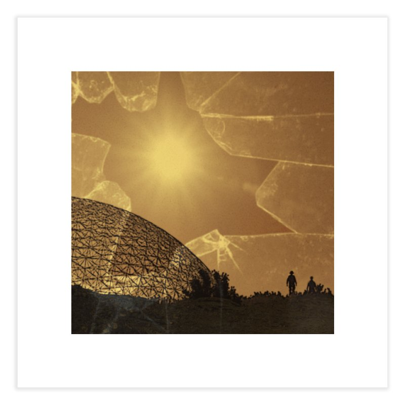 We Lost the Sky (Art Only) Home Fine Art Print by Spaceboy Books LLC's Artist Shop