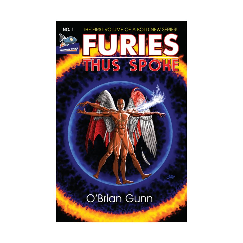 Furies: Thus Spoke (Full Cover) Men's Sweatshirt by Spaceboy Books LLC's Artist Shop