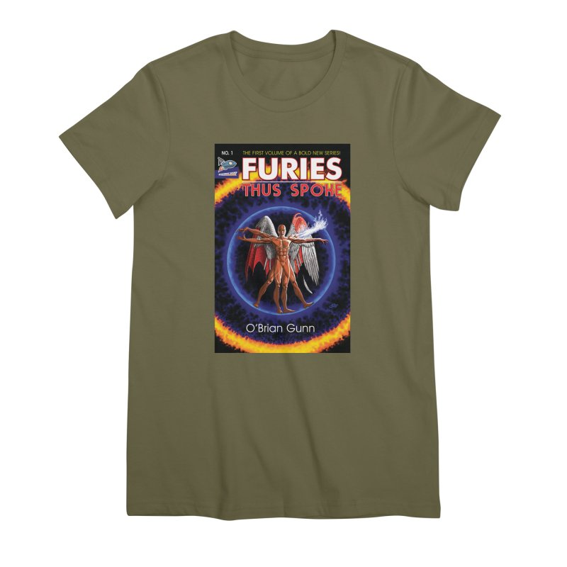 Furies: Thus Spoke (Full Cover) Women's Premium T-Shirt by Spaceboy Books LLC's Artist Shop