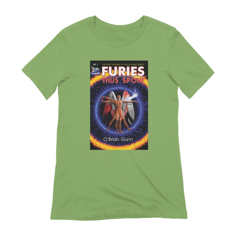 Furies: Thus Spoke (Full Cover) Women's Extra Soft T-Shirt by Spaceboy Books LLC's Artist Shop