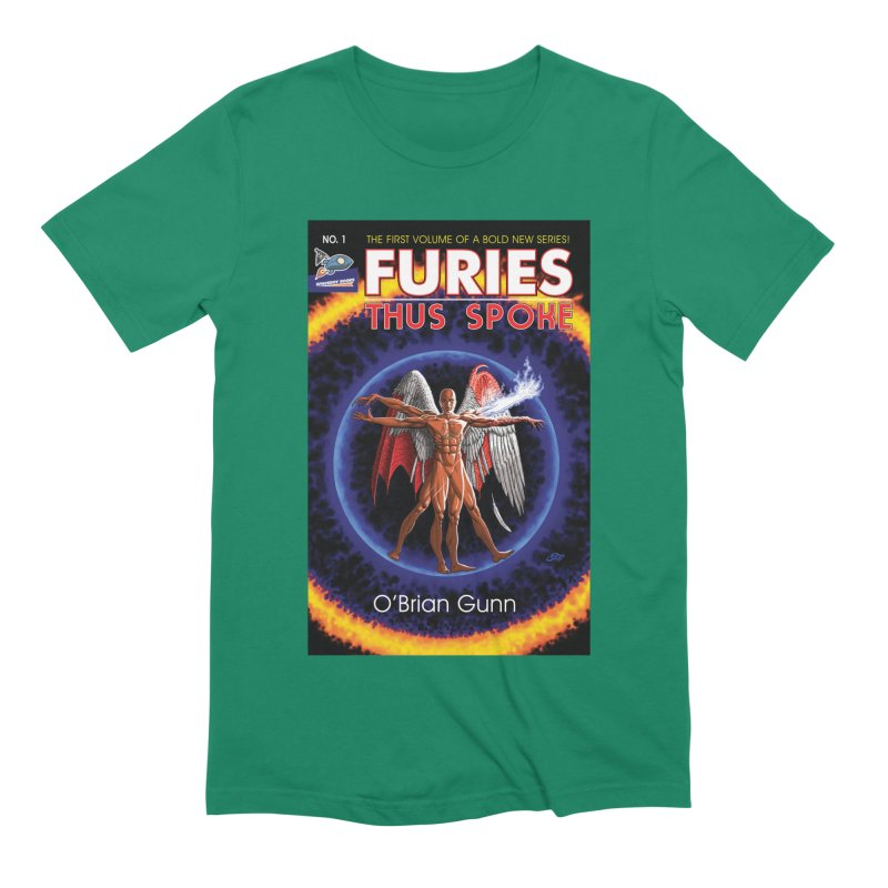 Furies: Thus Spoke (Full Cover) Men's Extra Soft T-Shirt by Spaceboy Books LLC's Artist Shop