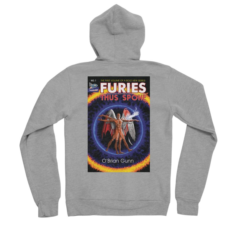 Furies: Thus Spoke (Full Cover) Women's Sponge Fleece Zip-Up Hoody by Spaceboy Books LLC's Artist Shop