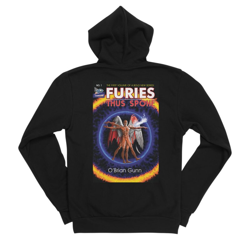 Furies: Thus Spoke (Full Cover) Women's Sponge Fleece Zip-Up Hoody by Spaceboy Books LLC's Artist Shop
