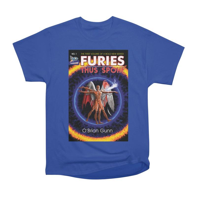 Furies: Thus Spoke (Full Cover) Men's Heavyweight T-Shirt by Spaceboy Books LLC's Artist Shop