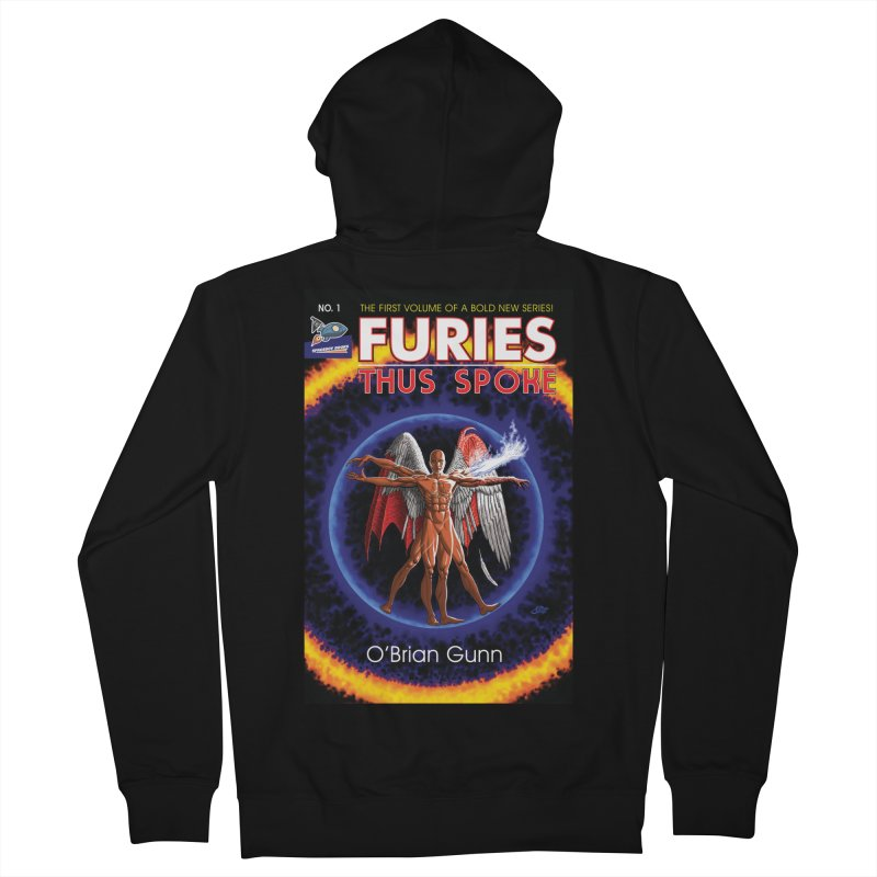 Furies: Thus Spoke (Full Cover) Women's French Terry Zip-Up Hoody by Spaceboy Books LLC's Artist Shop
