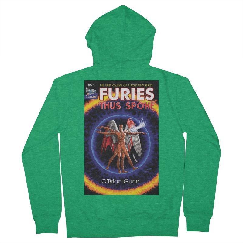 Furies: Thus Spoke (Full Cover) Men's Zip-Up Hoody by Spaceboy Books LLC's Artist Shop