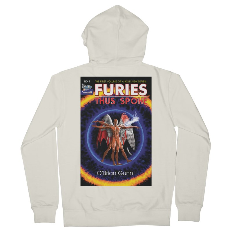 Furies: Thus Spoke (Full Cover) Men's French Terry Zip-Up Hoody by Spaceboy Books LLC's Artist Shop
