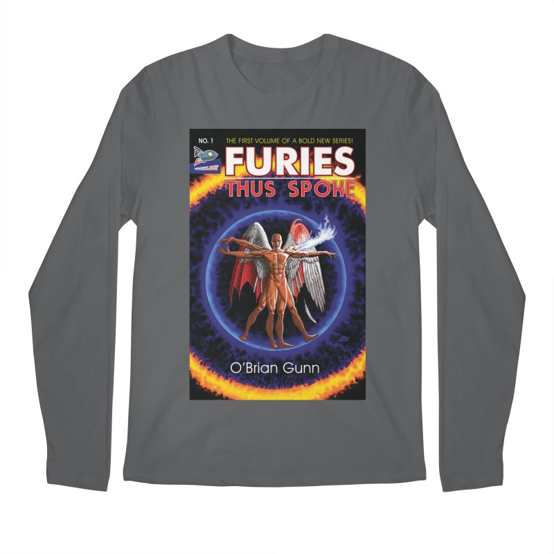 Furies: Thus Spoke (Full Cover) Men's Longsleeve T-Shirt by Spaceboy Books LLC's Artist Shop