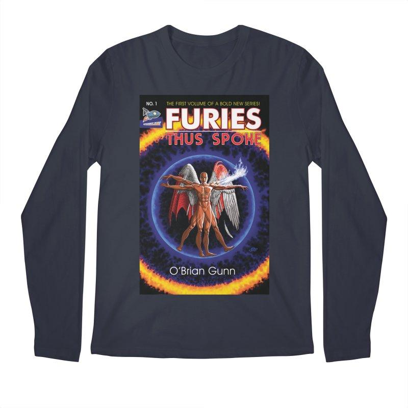 Furies: Thus Spoke (Full Cover) Men's Regular Longsleeve T-Shirt by Spaceboy Books LLC's Artist Shop