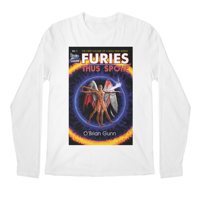 Furies: Thus Spoke (Full Cover) Men's Regular Longsleeve T-Shirt by Spaceboy Books LLC's Artist Shop