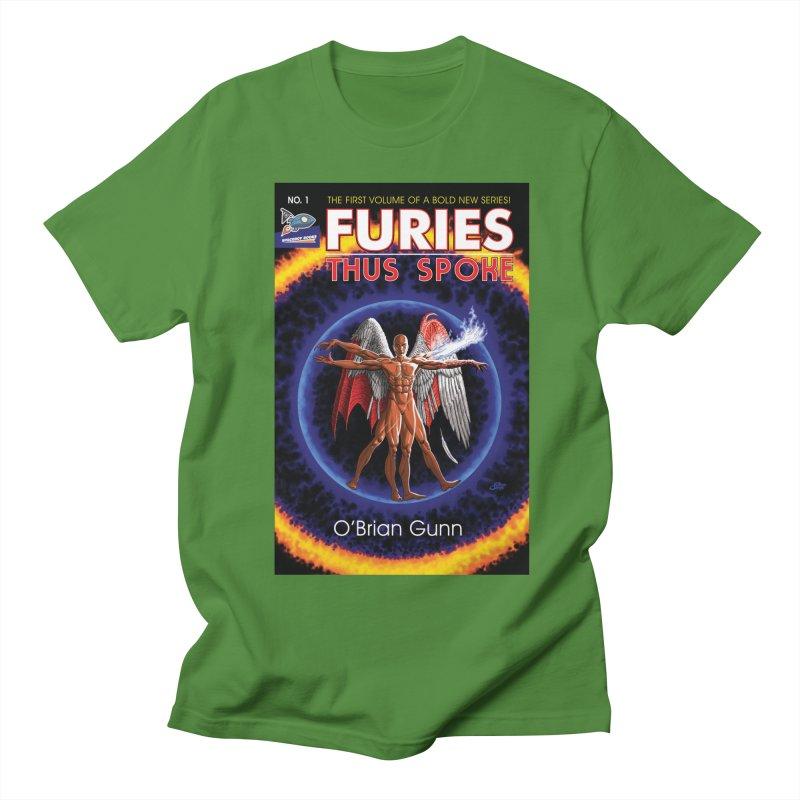 Furies: Thus Spoke (Full Cover) Men's Regular T-Shirt by Spaceboy Books LLC's Artist Shop