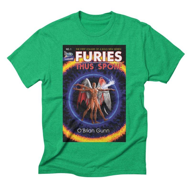Furies: Thus Spoke (Full Cover) Men's Triblend T-Shirt by Spaceboy Books LLC's Artist Shop