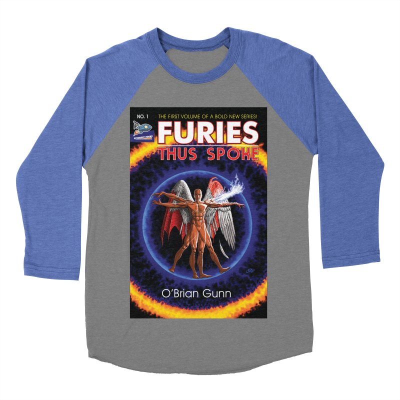 Furies: Thus Spoke (Full Cover) Men's Baseball Triblend Longsleeve T-Shirt by Spaceboy Books LLC's Artist Shop