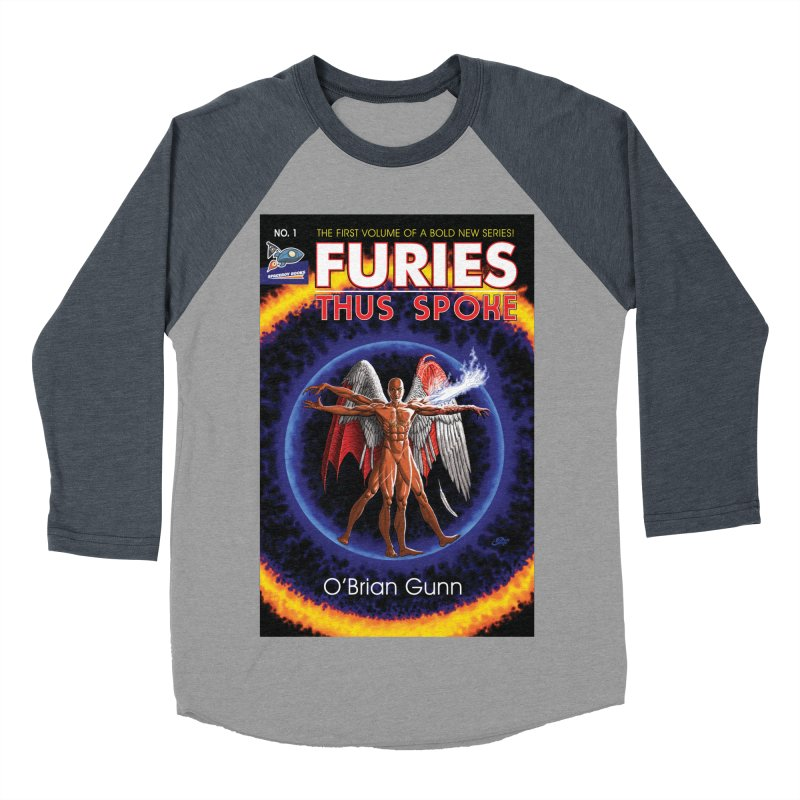 Furies: Thus Spoke (Full Cover) Men's Baseball Triblend Longsleeve T-Shirt by Spaceboy Books LLC's Artist Shop