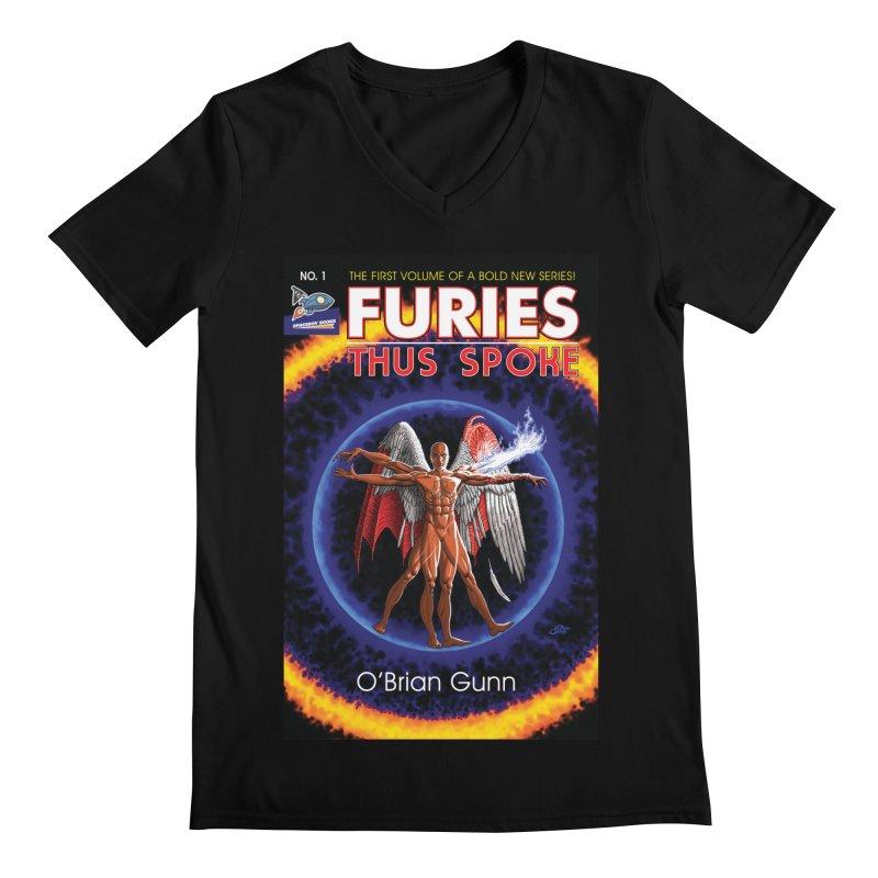Furies: Thus Spoke (Full Cover) Men's Regular V-Neck by Spaceboy Books LLC's Artist Shop