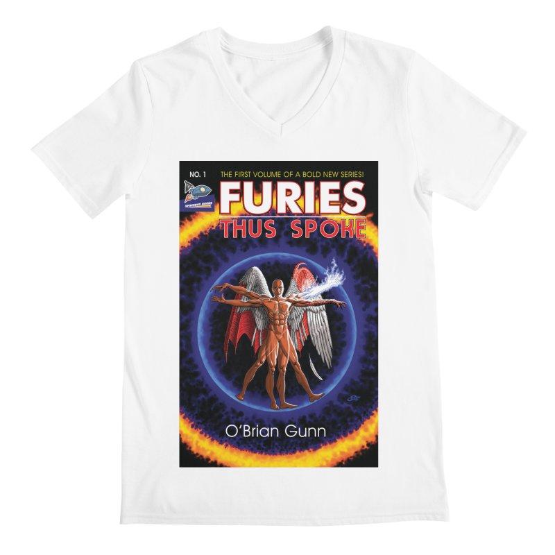 Furies: Thus Spoke (Full Cover) Men's V-Neck by Spaceboy Books LLC's Artist Shop